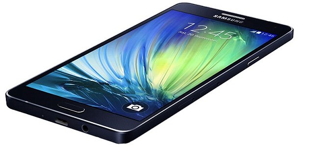 Samsung a7 mobile device