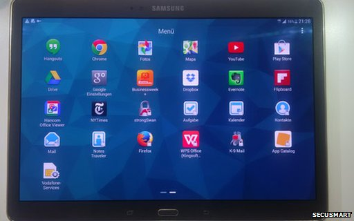 blackberry firm unveils new high security tablet