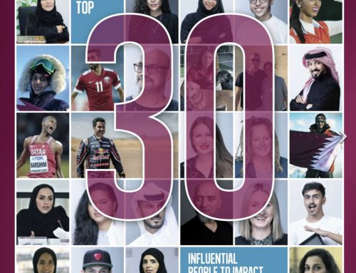 Justin Murray on 30 Influential People to Impact their Community in Qatar 2019