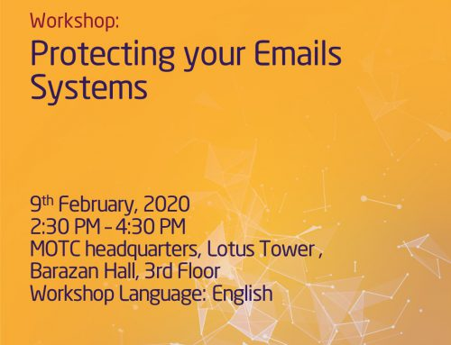 "Don't miss the ""Protecting your Emails Systems"" seminar!"